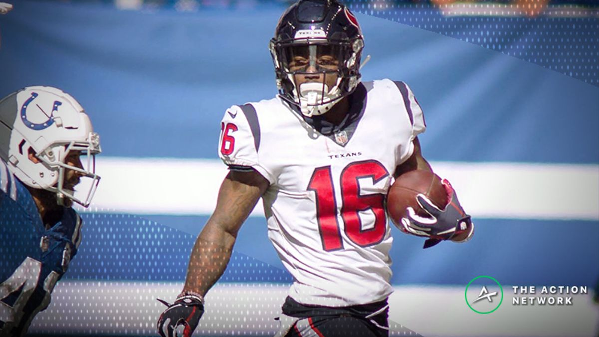 Fantasy Football WR Report: Keke Coutee's Breakout, Plus Week 6's Unanimous No. 1 article feature image