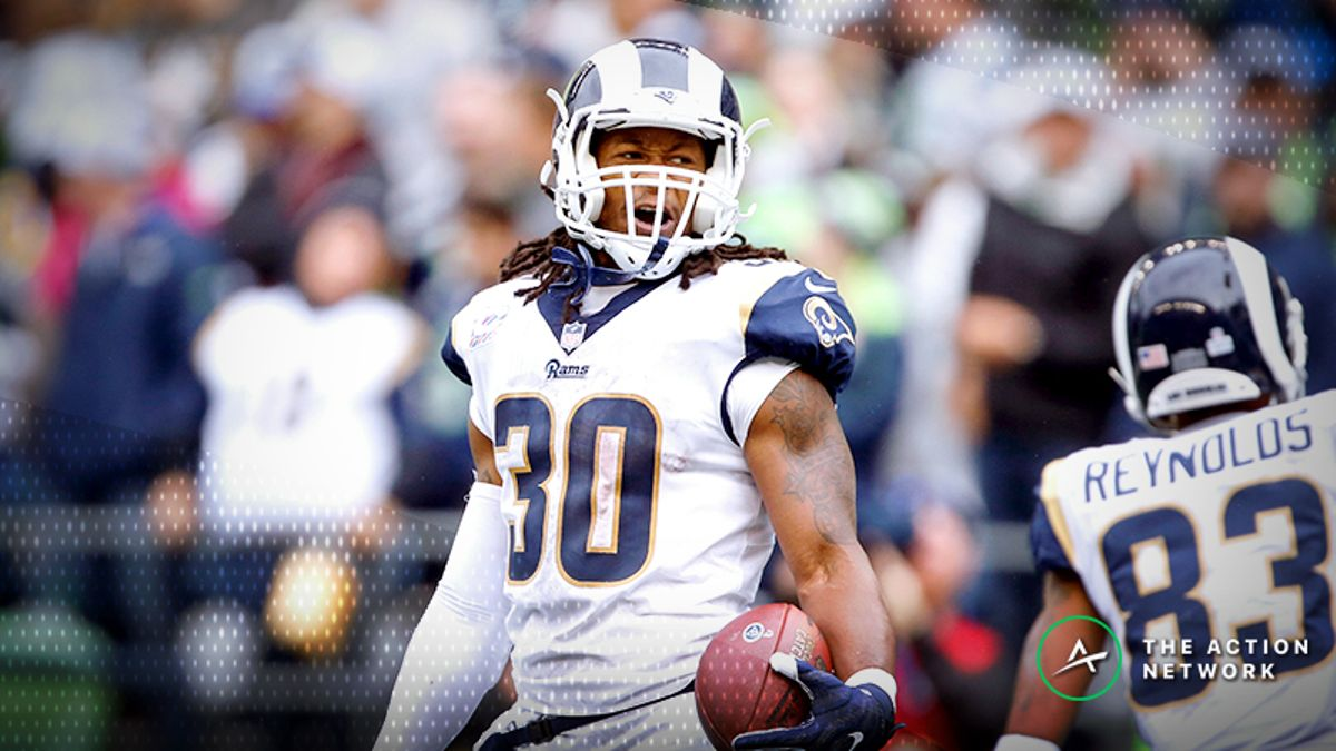 Cowboys-Rams Divisional Round Injury Report: Todd Gurley Poised for Return article feature image