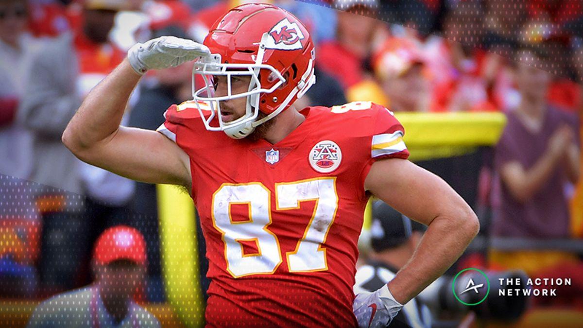 NFL Week 8 Fantasy TE Breakdown: Travis Kelce Will Break the Broncos article feature image