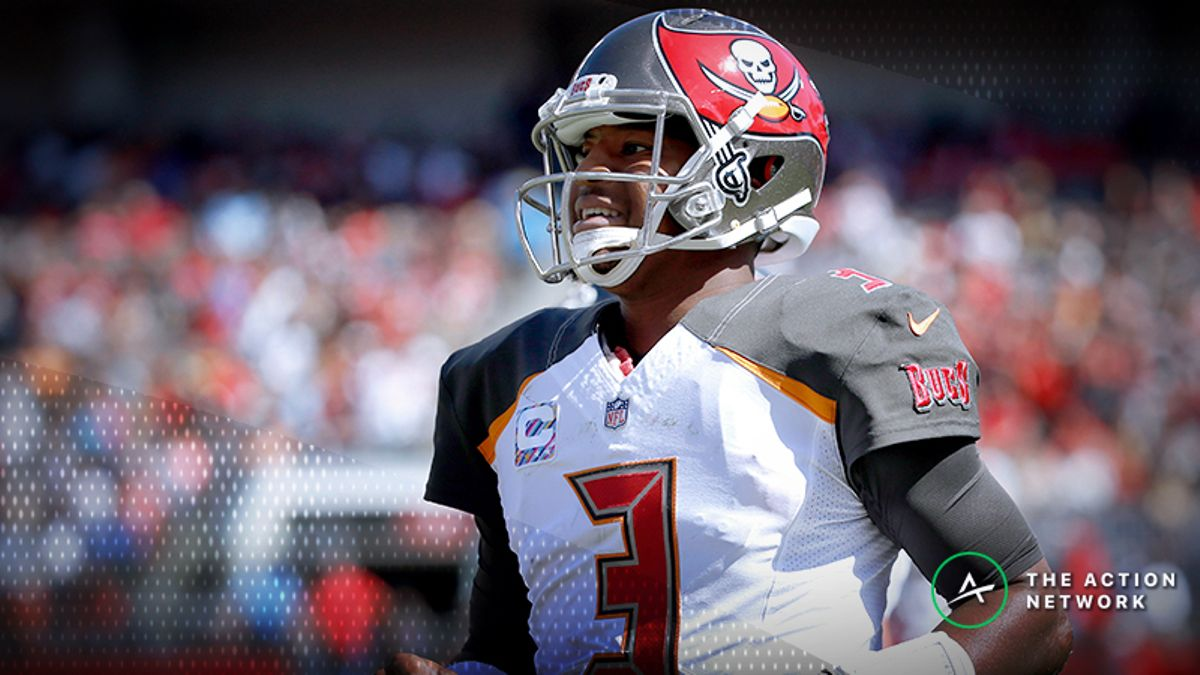 NFL Week 7 Fantasy QB Breakdown: Win Your Cash Games with Jameis Winston article feature image