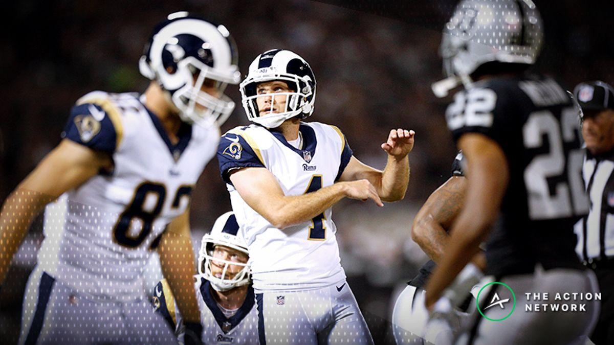 Koerner's Week 8 Fantasy Football Kicker/Defense Tiers article feature image