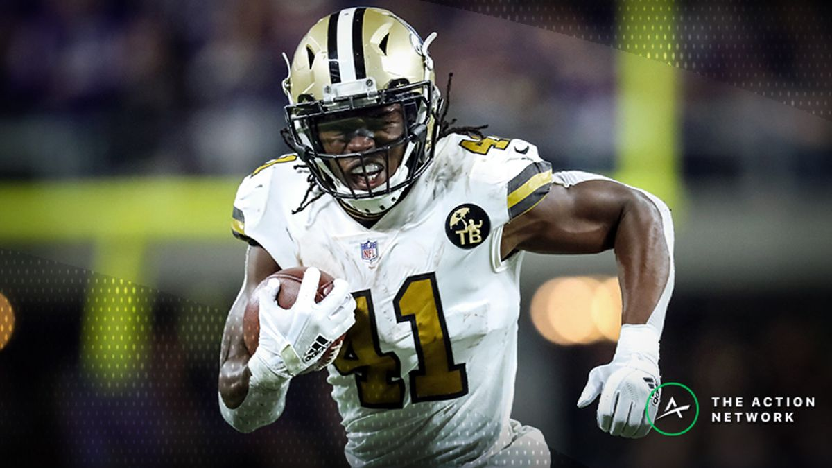Conference Championships Fantasy Football Half-Point PPR Rankings: RB article feature image