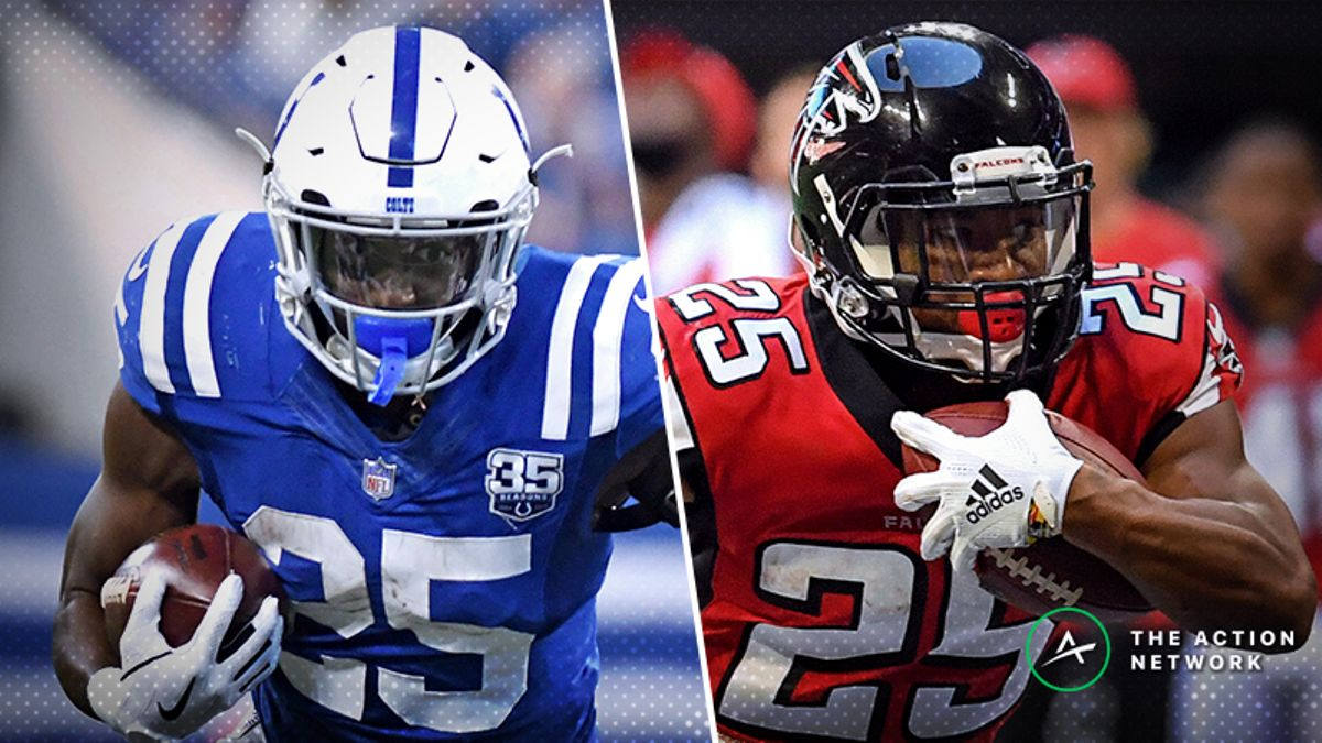 Fantasy Football Waiver Wire Targets for Week 8: Buy Marlon Mack, Ito Smith, More article feature image