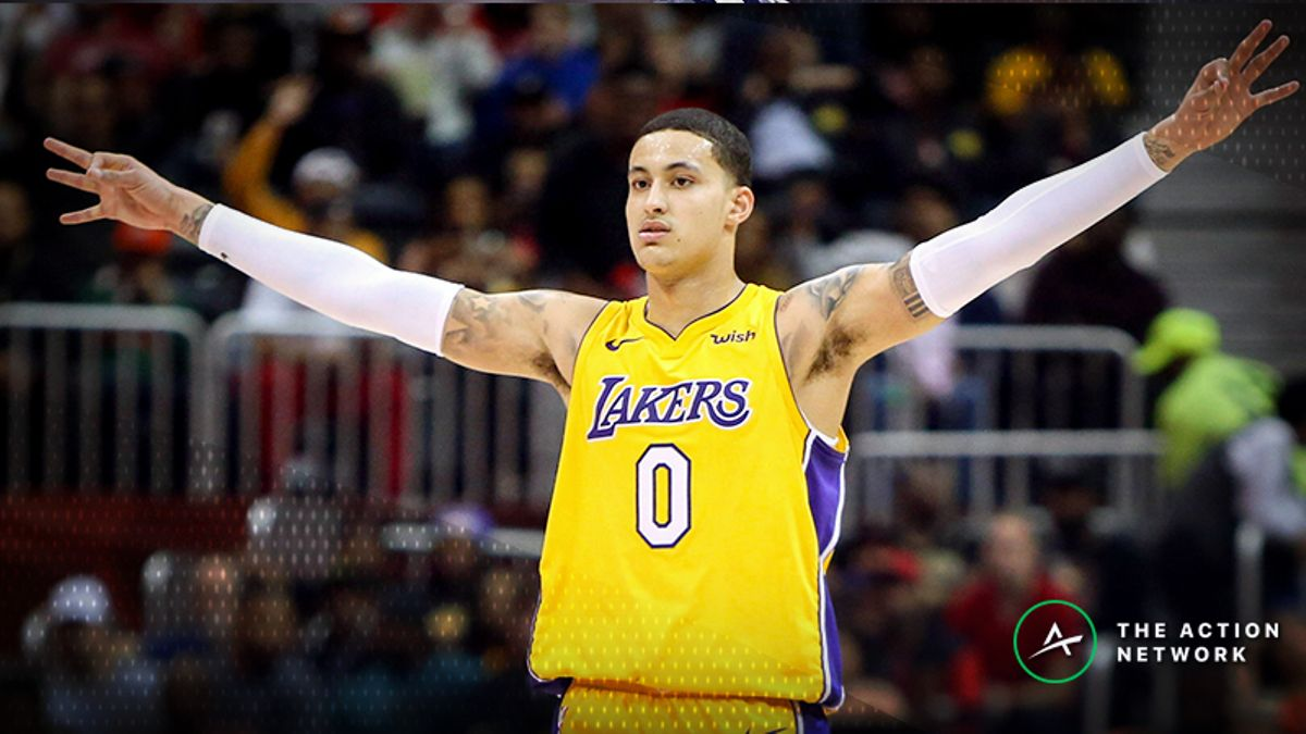 Wednesday's Best NBA Player Props: Betting Kyle Kuzma Rebounds, More article feature image