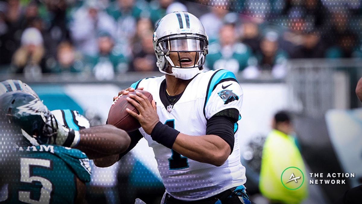NFL Bad Beats, Week 7: Cam Newton's Comeback Win Burns Eagles Bettors article feature image