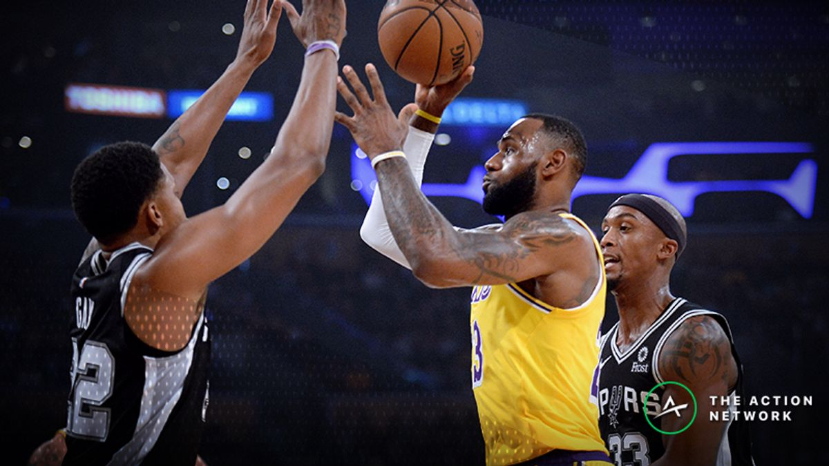 Spurs Conquer LeBron James' Heroics in Epic Overtime Win over Lakers article feature image