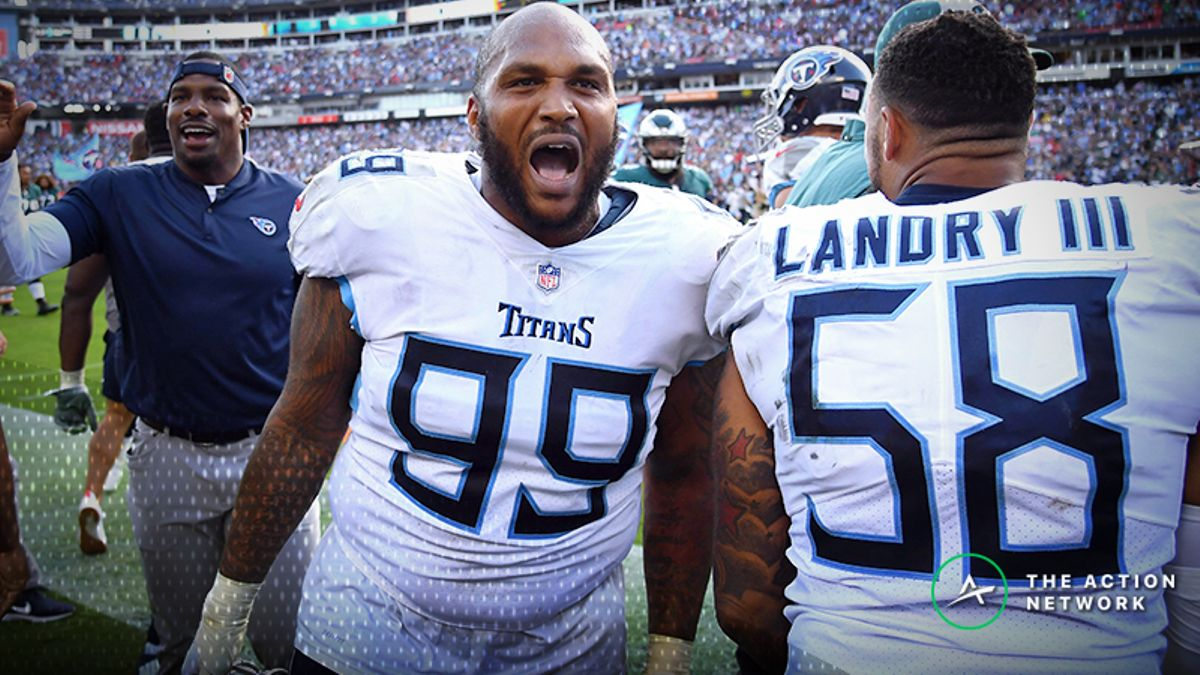 Zylbert's NFL Over/Unders: Is the Titans Defense Legit? article feature image