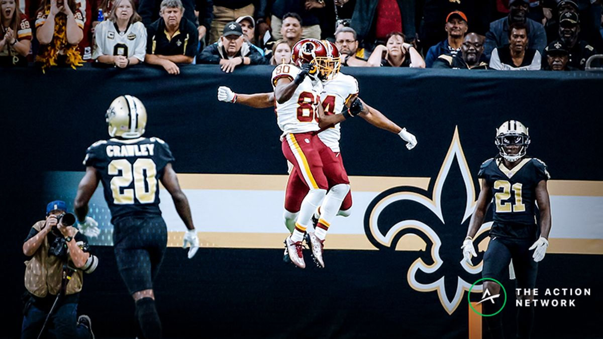 How the Redskins Can Exploit the Saints Defensive Woes, and Where to Find Betting Value article feature image