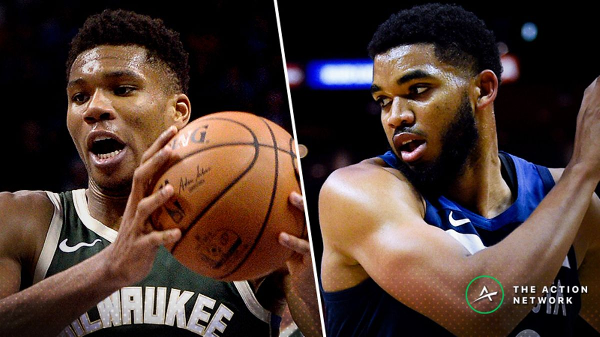 Bucks-Timberwolves Betting Preview: Will Giannis & Co. Stay Unbeaten? article feature image