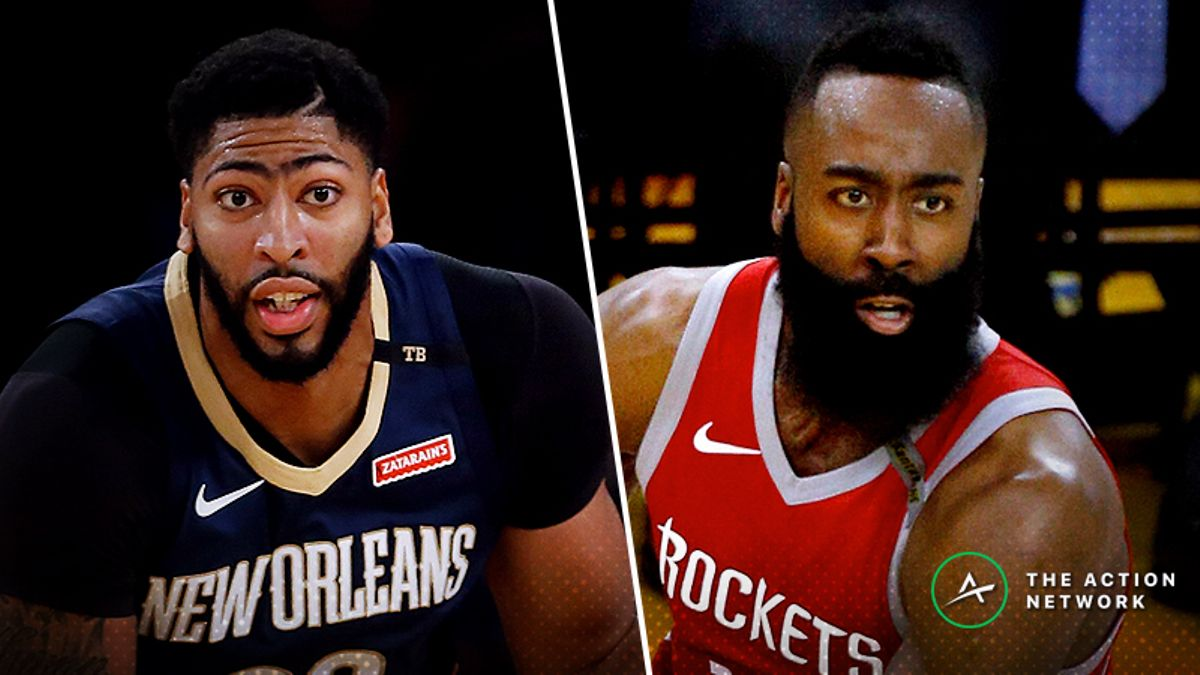 NBA Fantasy Breakdown (Wed. 10/17): James Harden or Anthony Davis? article feature image
