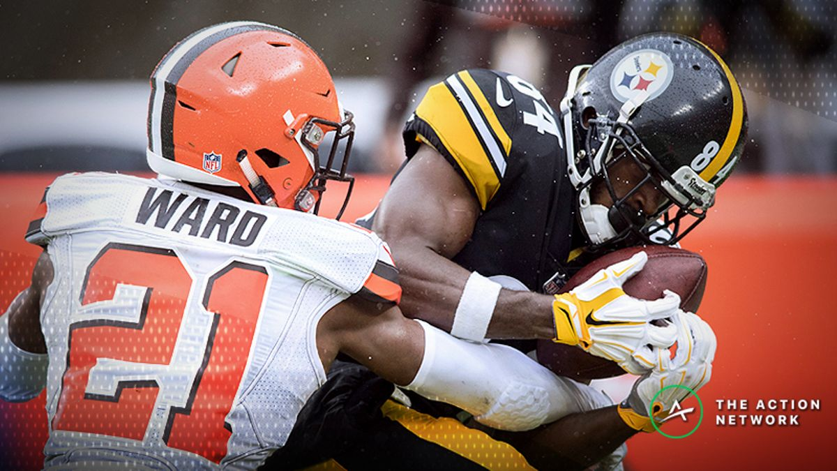 NFL Week 8 WR/CB Matchups: Antonio Brown Faces Off Against Denzel Ward, More Shadow Dates article feature image