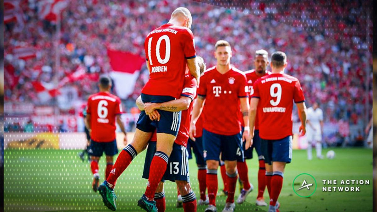 European Soccer Betting Preview: Will Bayern Munich's Struggles Continue? article feature image