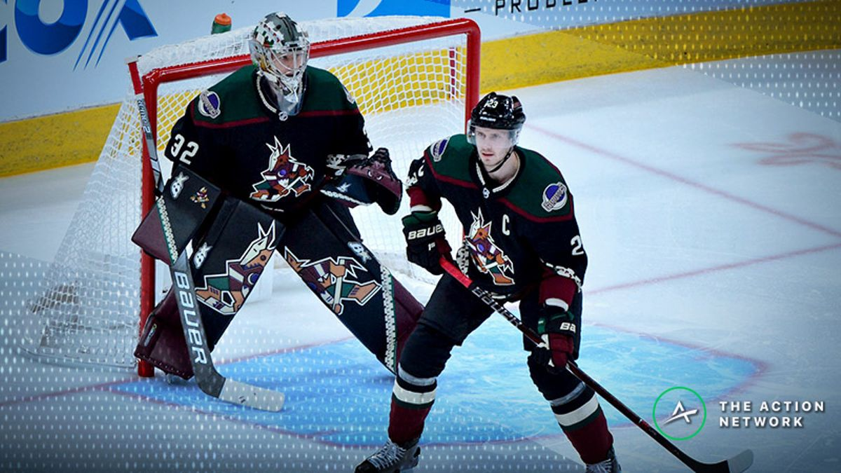 NHL Betting: Will the Coyotes Get Off the Mark Against the Ducks? article feature image