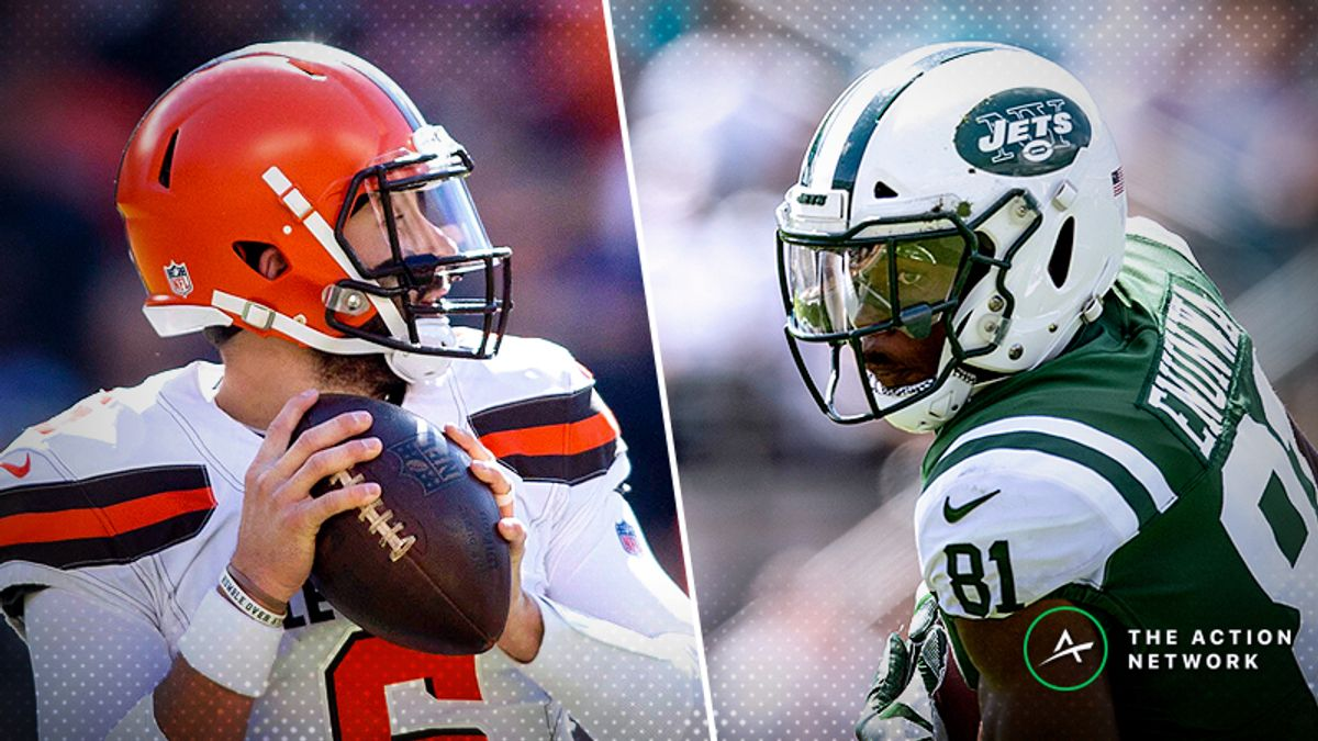 Week 7 NFL Injury Report: Baker Mayfield, Quincy Enunwa, More Fantasy Football Starters to Monitor article feature image