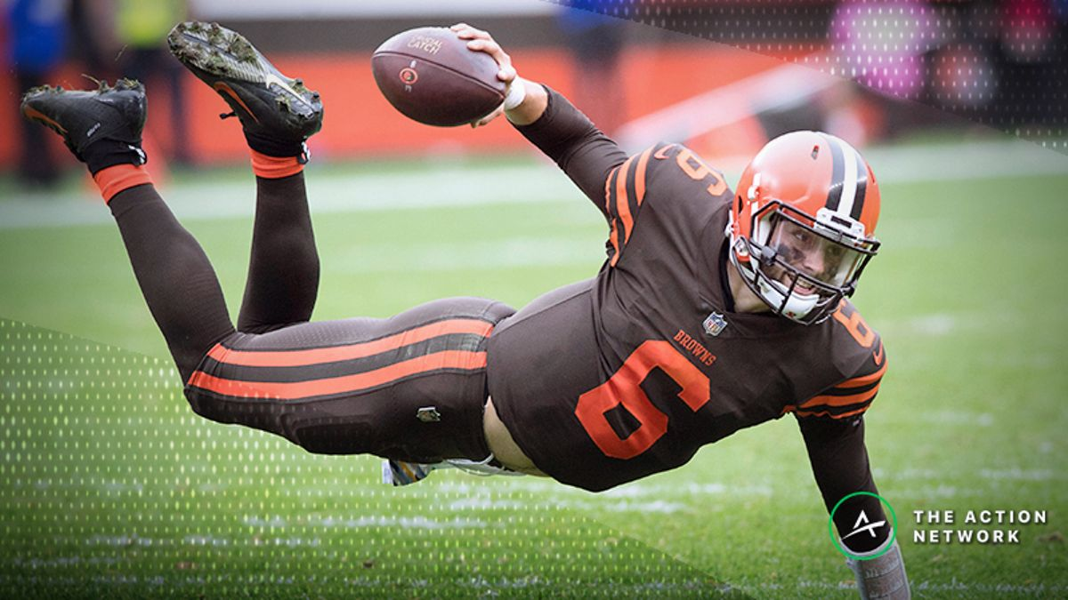 Millman's NFL RedZone Diaries: Believing in Baker Mayfield and Cashing in on Home Underdogs article feature image
