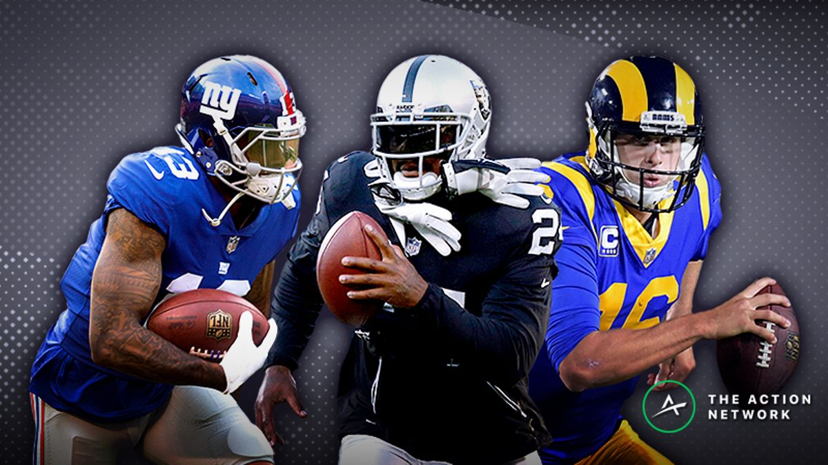 Koerner's Week 5 Fantasy Football Tiers: Does Jared Goff Rank Among Elite QBs? article feature image