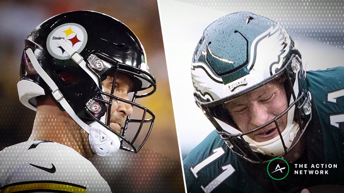 Pennsylvania Pressure: Steelers, Eagles Failing to Meet Early Vegas Expectations article feature image