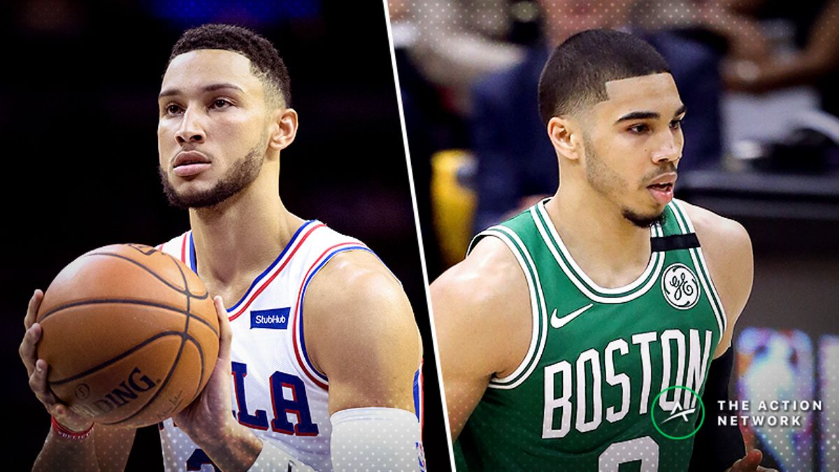 76ers-Celtics Opening Night Betting Preview: Can Philly Keep Up Offensively? article feature image