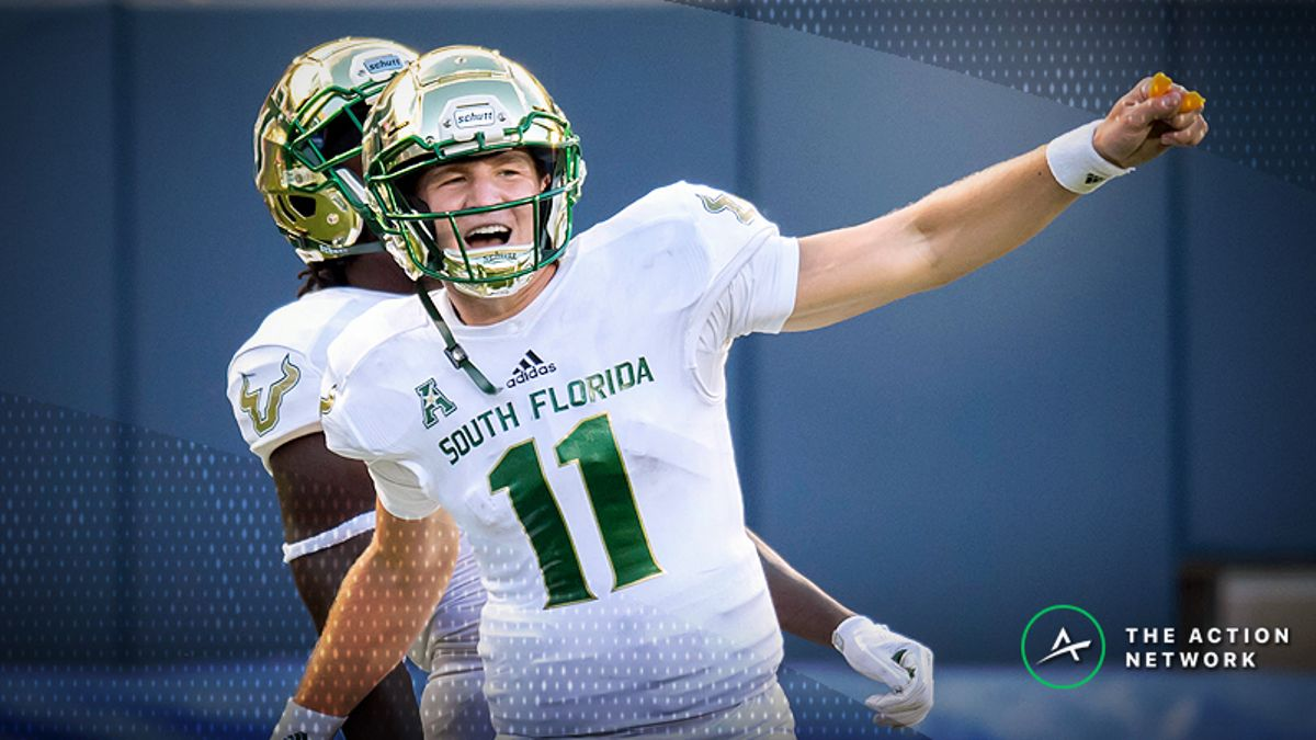 How Sharps Are Betting Friday's South Florida-Tulsa Matchup article feature image