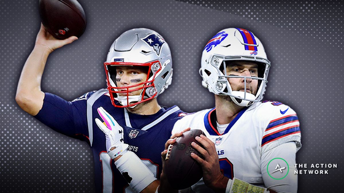 Patriots-Bills MNF Betting Preview: Will Brady's Dominance of Buffalo Continue? article feature image