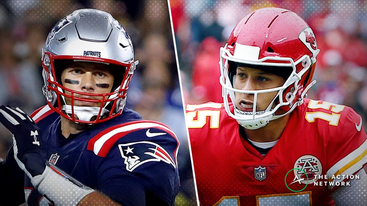 Schwartz's Week 6 Trench Report: Who Do You Fade in Chiefs-Patriots? article feature image