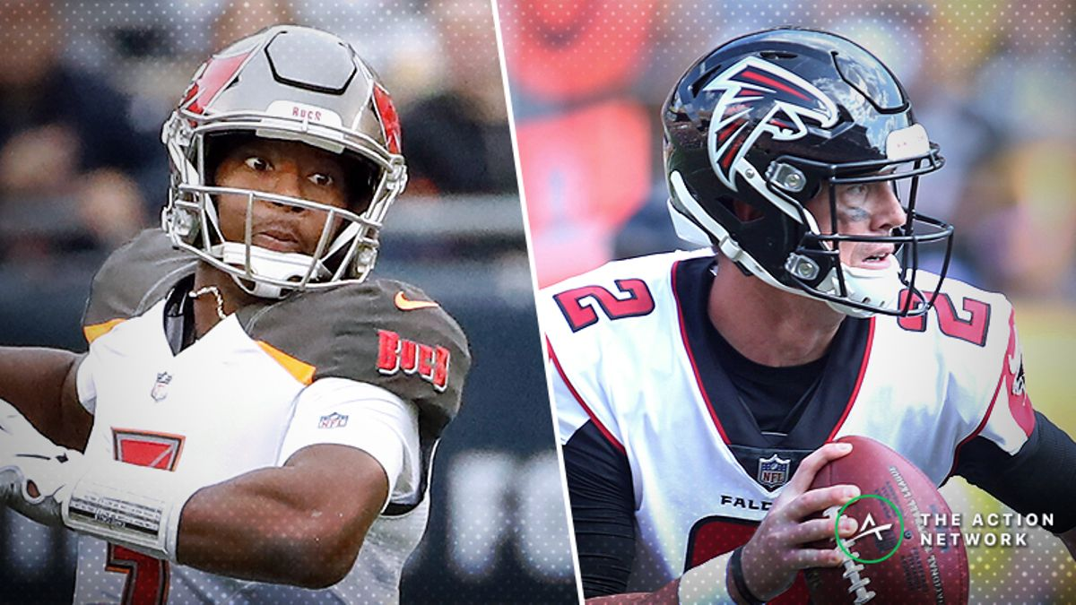NFL Sharp Report: Pros Betting Bucs-Falcons, Two Other Week 6 Games article feature image