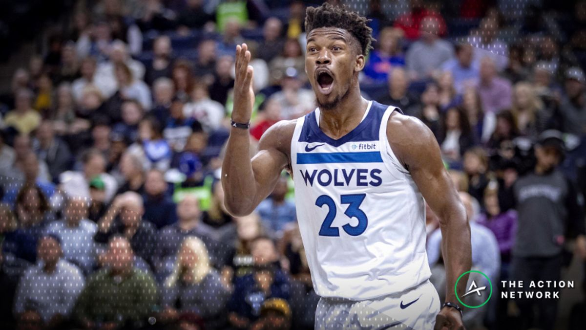 Jimmy Butler Saga Moving Jazz-Timberwolves Betting Line article feature image