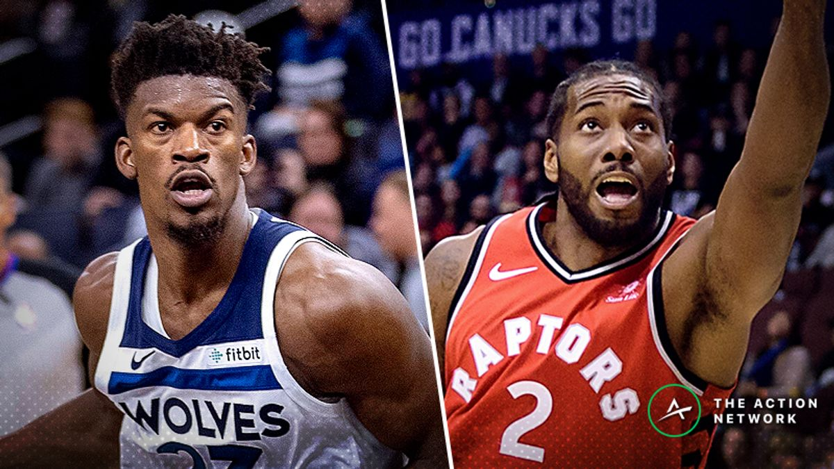Timberwolves-Raptors Betting Preview: Debating Tonight's Over/Under article feature image