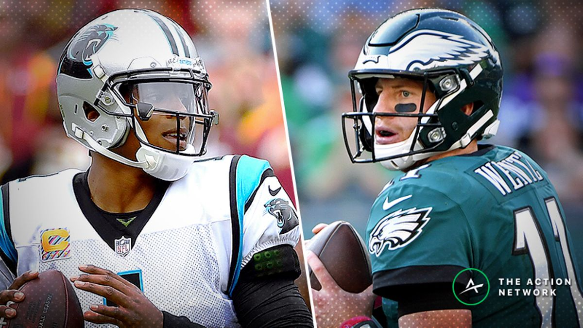 Panthers-Eagles Betting Preview: Keep an Eye on the Philly Weather article feature image