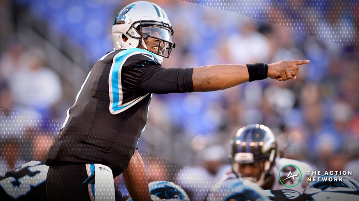 Ravens-Panthers Betting Preview: Will Cam Newton Work His Magic Again? article feature image
