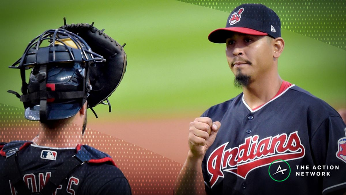 ALDS Game 2 Player Props: Carlos Carrasco Over/Under Six Strikeouts? article feature image