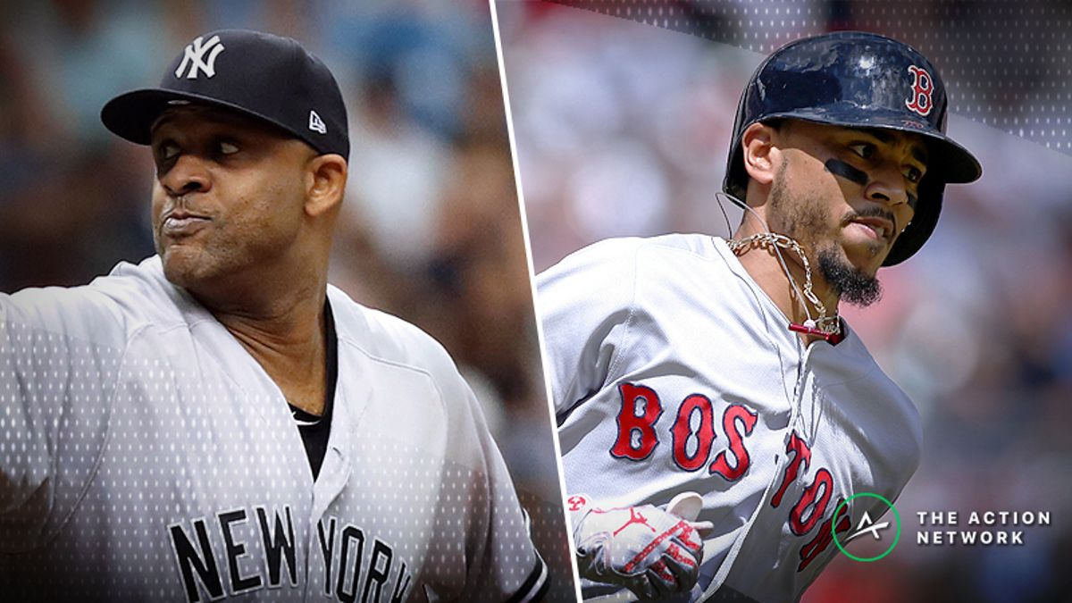 ALDS Betting: CC Sabathia Tasked With Keeping the Yankees Alive vs. Red Sox article feature image