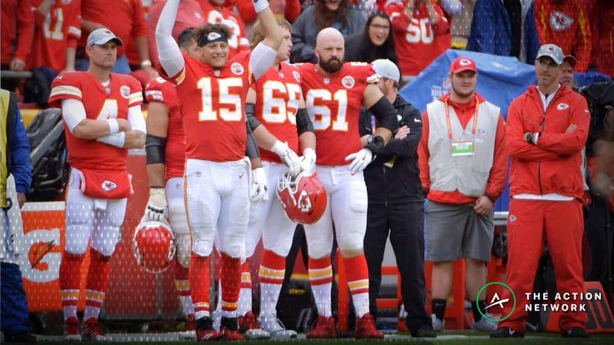 Chiefs-Patriots Over/Under Among Highest Ever article feature image