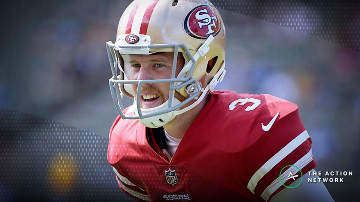 Zylbert's NFL Over/Unders: Are Oddsmakers Overreacting to C.J. Beathard? article feature image