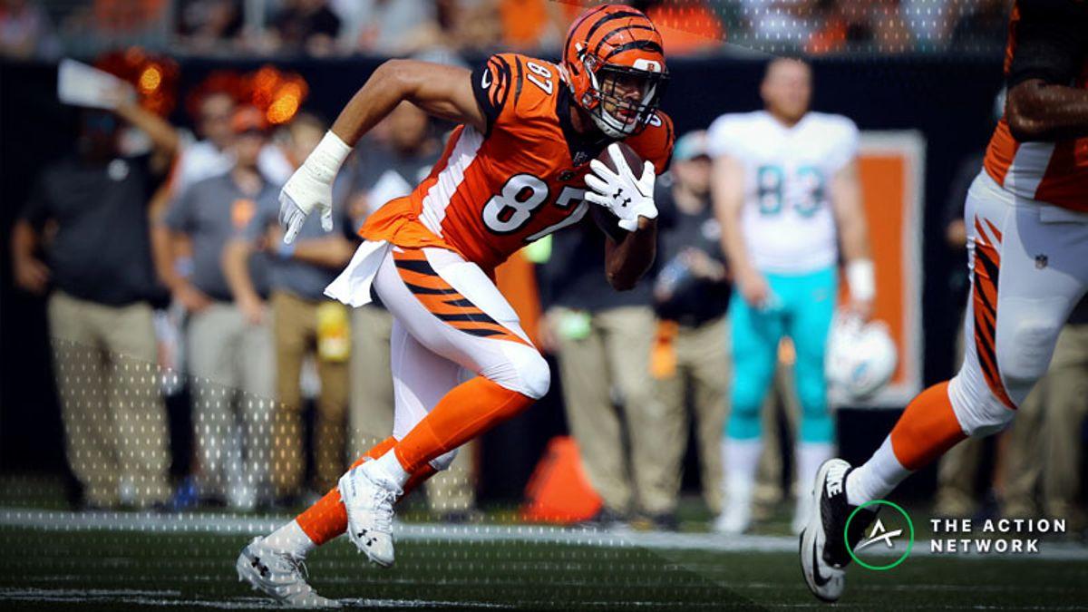 NFL Week 6 Fantasy TE Breakdown: Can You Trust C.J. Uzomah in a Smash Spot? article feature image
