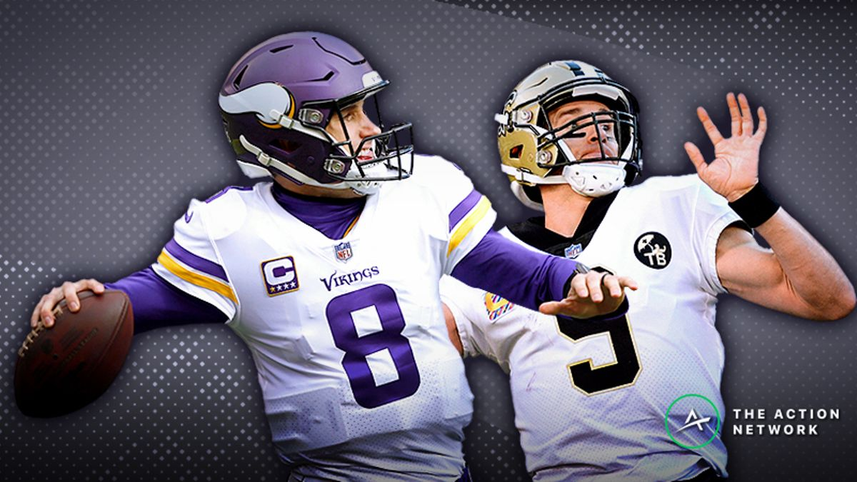 Saints-Vikings SNF Betting Preview: Will Brees & Co. Get Their Revenge? article feature image