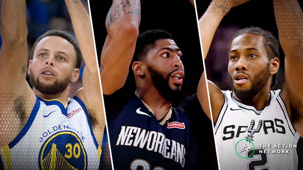 Best NBA MVP Value Bets: Ranking Chances of Steph Curry, Anthony Davis, More article feature image