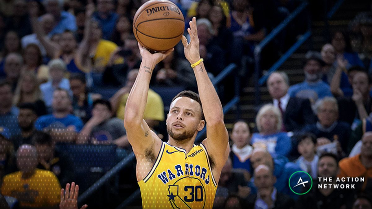 NBA Sharp Report: Pros Betting Warriors-Knicks, Two Other Friday Night Games article feature image