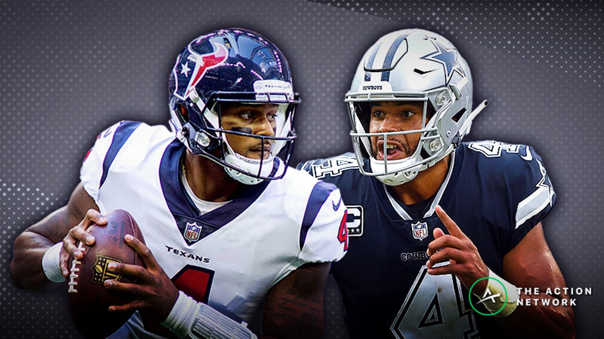 Cowboys-Texans SNF Betting Preview: Will the Dallas D Slow Deshaun Watson? article feature image