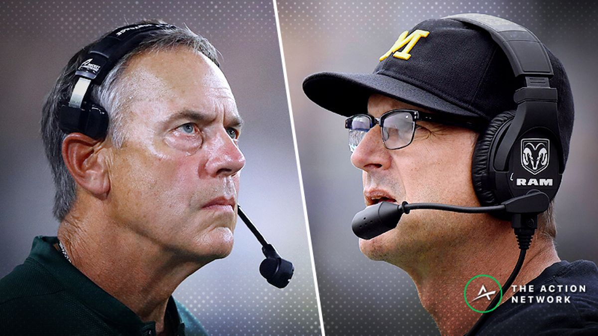 Michigan State-Michigan Betting Guide: Will Spartans Keep Up ATS Dominance vs. Wolverines? article feature image