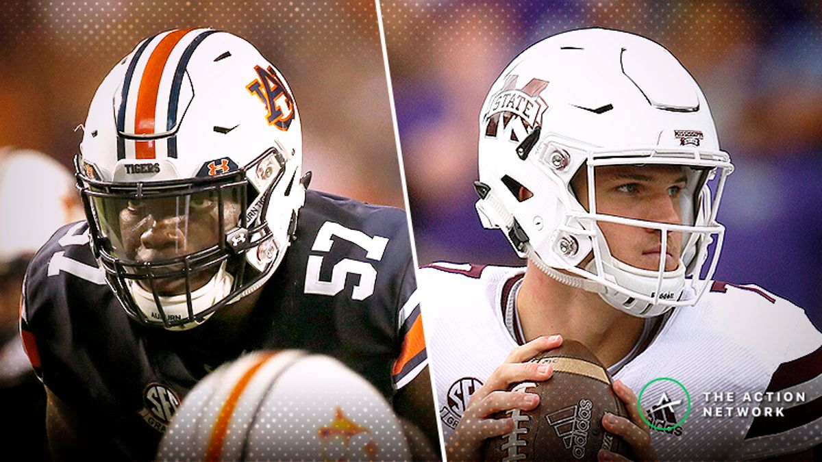 Auburn-Mississippi State Betting Guide: Both Offenses Need Answers Fast article feature image