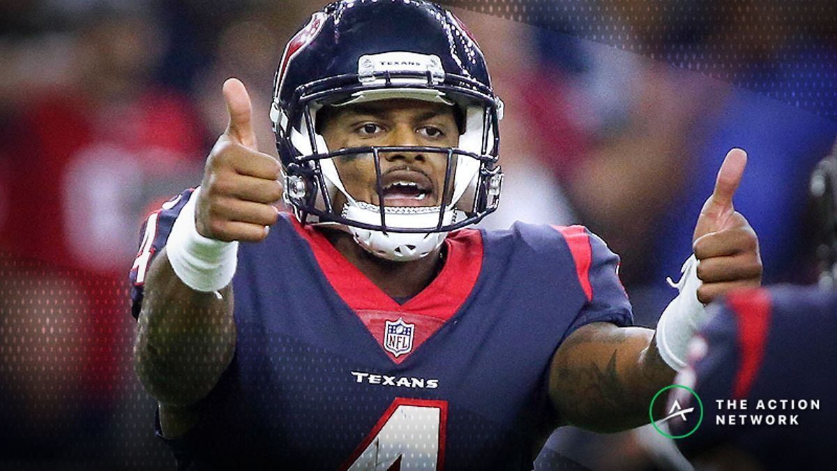Week 6 NFL Survivor Pool: Is Picking Houston a Problem? article feature image