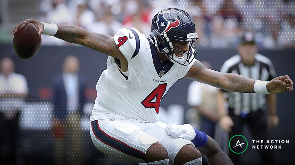Deshaun Watson Injury Keeping Bills-Texans Betting Line Off the Board article feature image