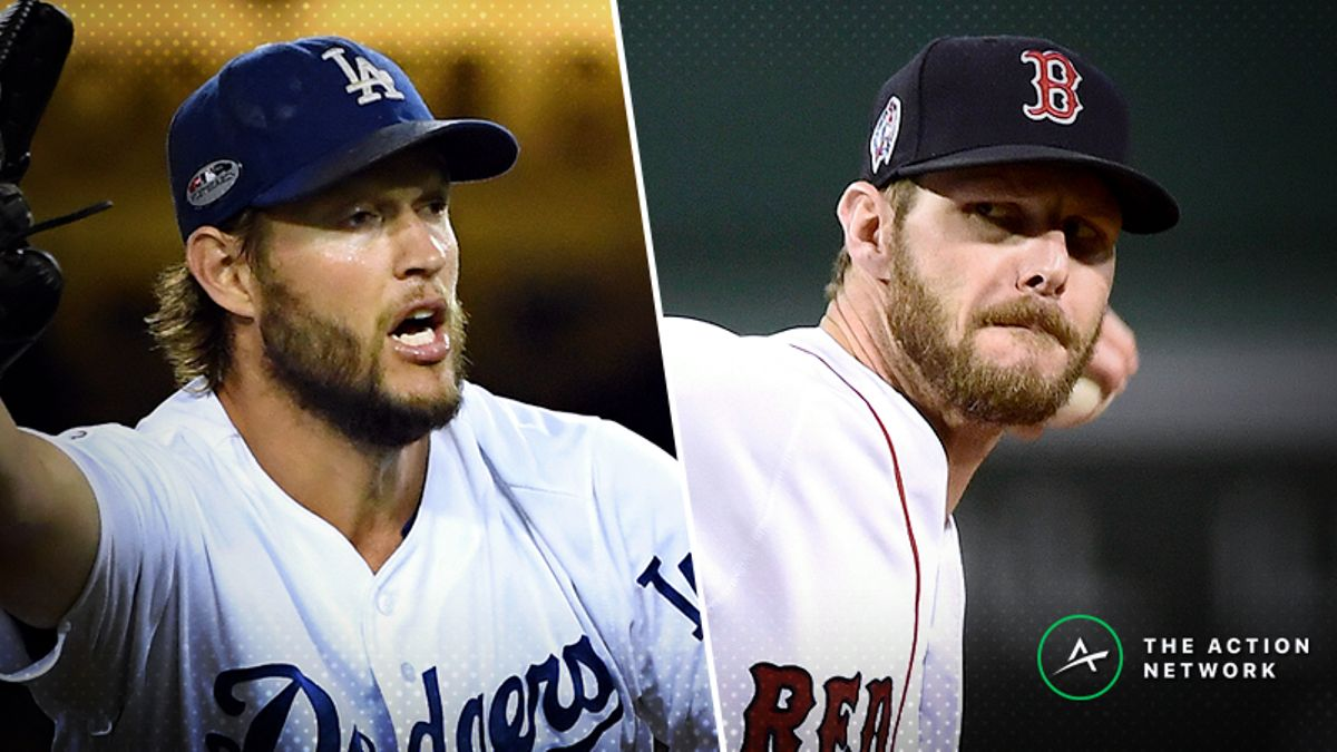 World Series MVP Odds: Clayton Kershaw, Chris Sale Among Favorites article feature image