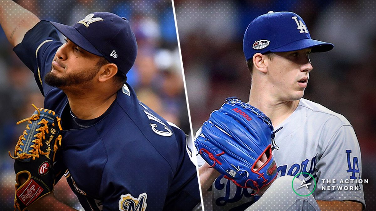 Sharps and Squares Betting Opposite Sides of Brewers-Dodgers Game 3 Over/Under article feature image