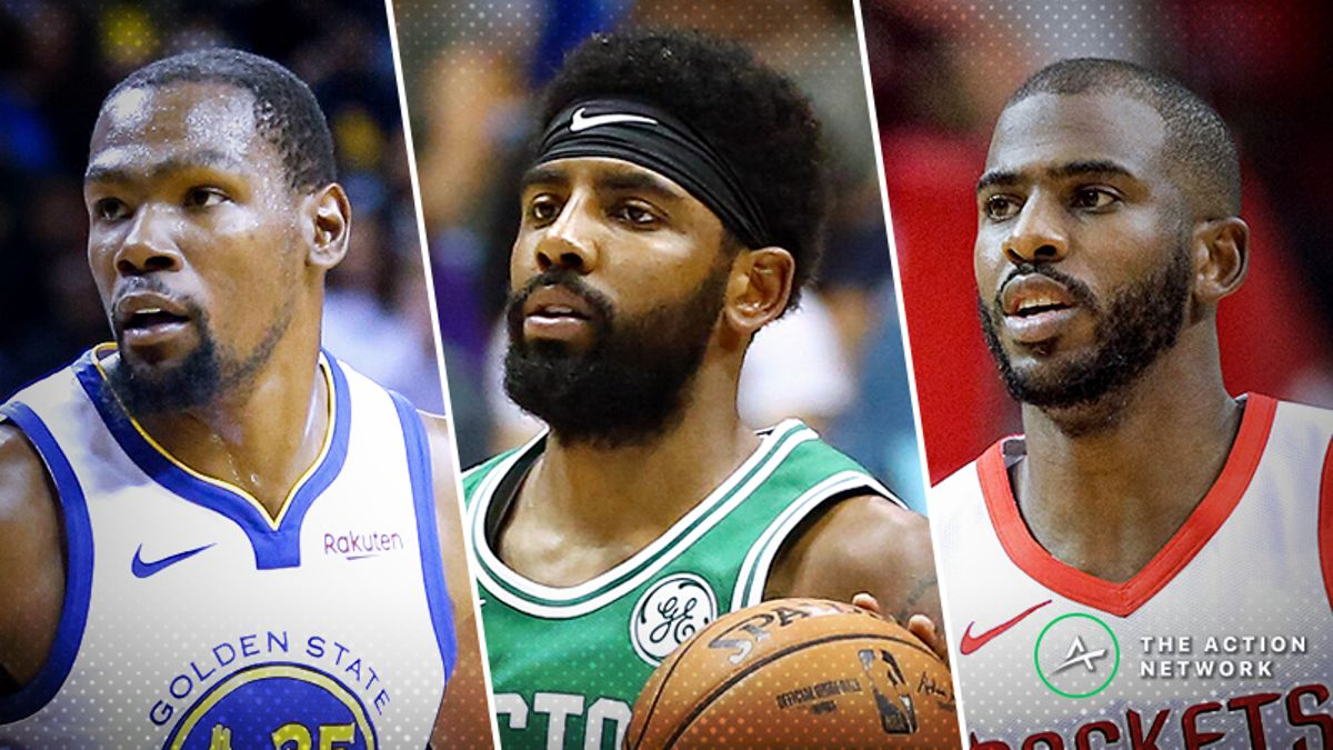 The Action Network's 2018-19 Updated NBA Betting Power Rankings article feature image