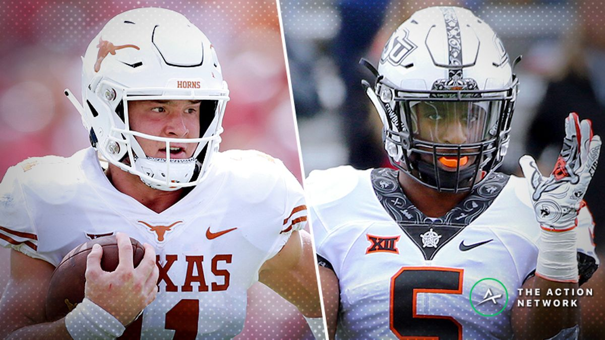 Texas-Oklahoma State Betting Guide: When Tom Herman Is a Favorite… article feature image