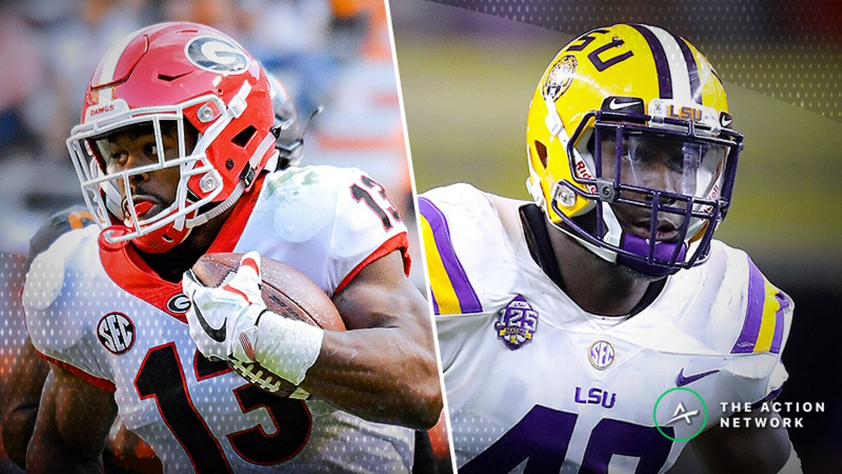 Georgia-LSU Betting Guide: Is it Finally Time to Buy the Tigers? article feature image