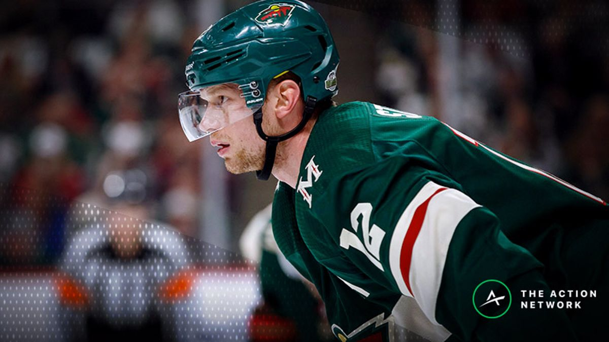 Top NHL Prop Bets for Monday: Eric Staal Over/Under 2.5 Total Shots on Goal? article feature image
