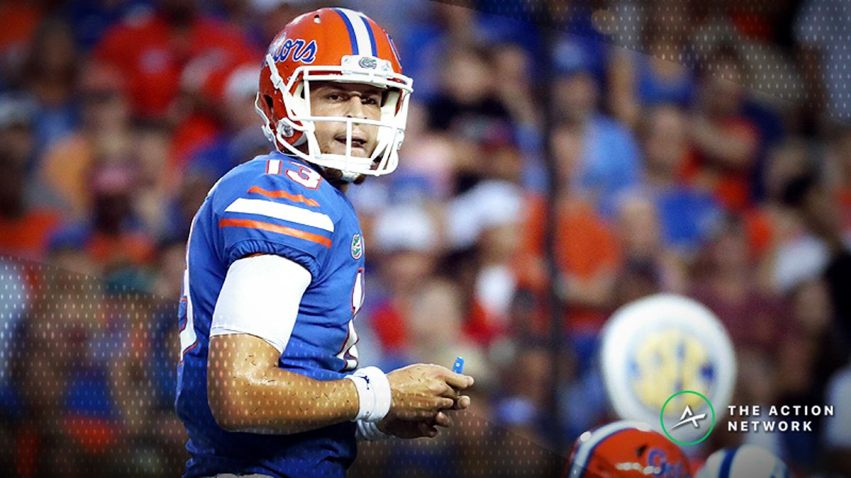 College Football Sharp Report: Pros Betting LSU-Florida, 4 Other Week 6 Games article feature image